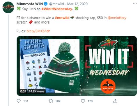 Win It Wednesday Twitter Hashtags