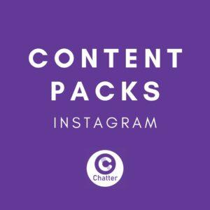 Instagram Social Media Content Pack