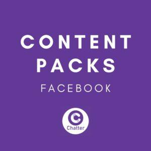 Facebook Social Media Content Pack