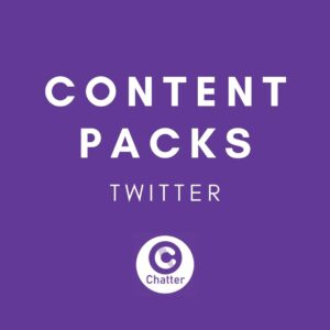 Twitter Social Media Content Pack
