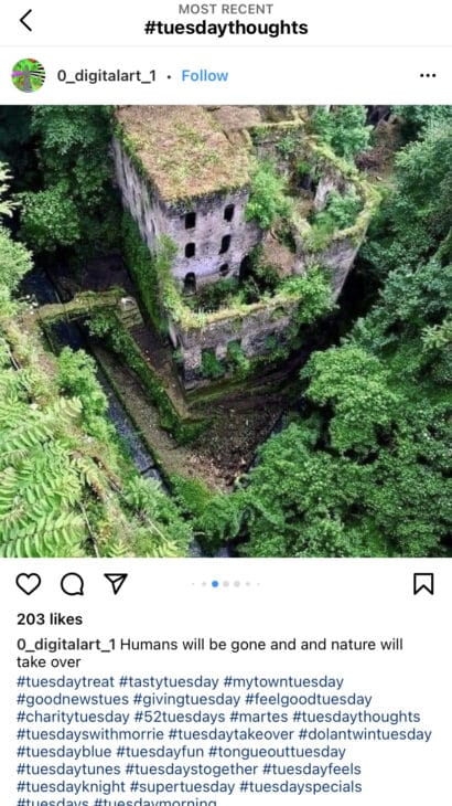 Tuesday Thoughts - Best Tuesday Instagram Hashtags