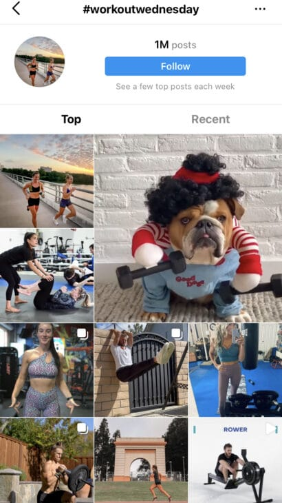 Workout Wednesday - Best Wednesday Instagram Hashtags