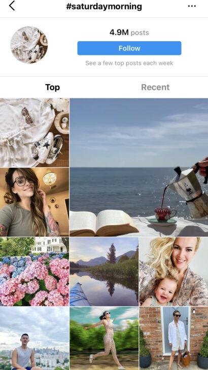 Saturday Morning - Best Saturday Instagram Hashtags
